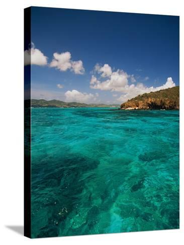 Caribbean Sea-Bob Krist-Stretched Canvas Print