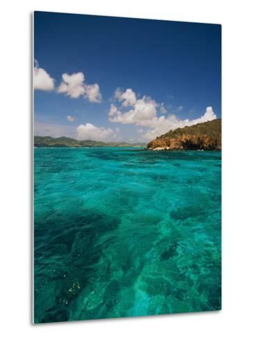 Caribbean Sea-Bob Krist-Metal Print