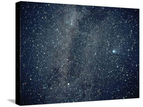 Halley's Comet in the Southern Sky-Roger Ressmeyer-Stretched Canvas Print