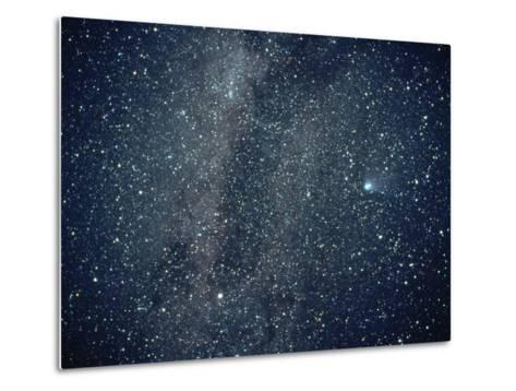 Halley's Comet in the Southern Sky-Roger Ressmeyer-Metal Print