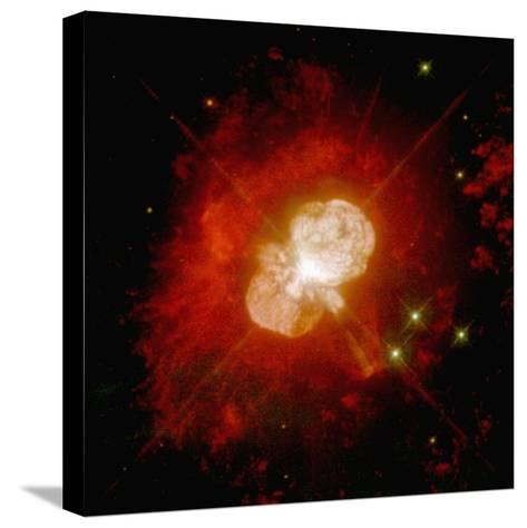 Nebula Around an Unstable Star--Stretched Canvas Print