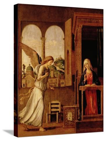 Annunciation Altarpiece-Bettmann-Stretched Canvas Print
