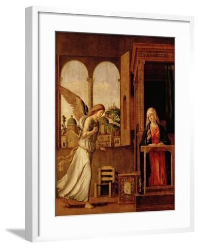 Annunciation Altarpiece-Bettmann-Framed Art Print