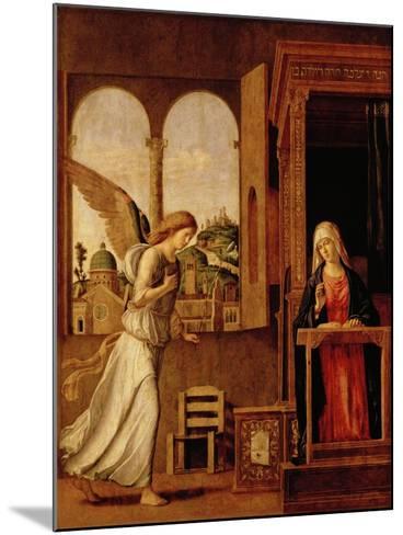 Annunciation Altarpiece-Bettmann-Mounted Giclee Print
