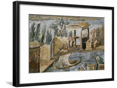 Detail of Palestrina Mosaic-S^ Vannini-Framed Art Print