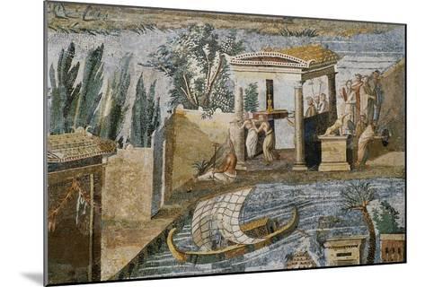 Detail of Palestrina Mosaic-S^ Vannini-Mounted Giclee Print