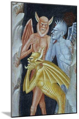 Detail of Demons from Militant Church and Triumphant Church-Andrea di Buonaiuto-Mounted Giclee Print