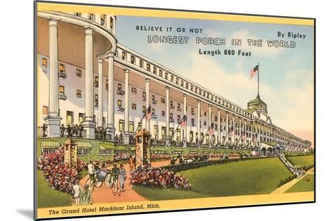 Grand Hotel, Mackinac Island, Michigan--Mounted Art Print