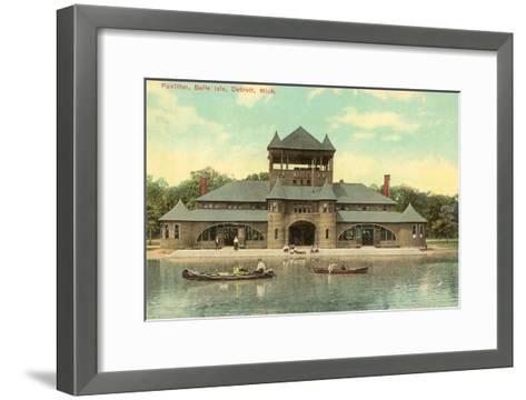 Pavilion, Belle Island, Detroit, Michigan--Framed Art Print