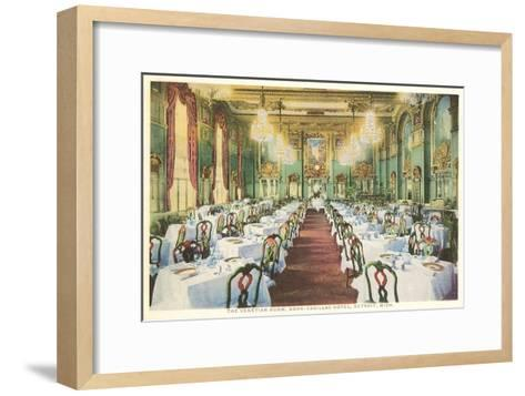 Venetian Room, Book-Cadillac Hotel, Detroit, Michigan--Framed Art Print