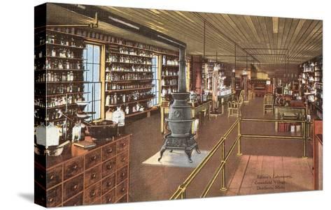 Edison's Laboratory, Dearborn, Michigan--Stretched Canvas Print