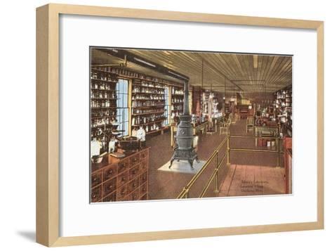 Edison's Laboratory, Dearborn, Michigan--Framed Art Print