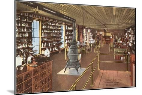 Edison's Laboratory, Dearborn, Michigan--Mounted Art Print