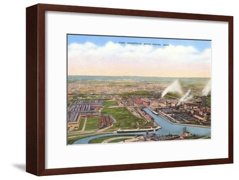 Ford Industries, River Rouge, Michigan--Framed Art Print