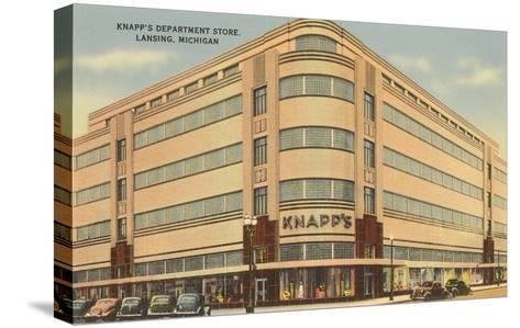 Knapps Department Store, Lansing, Michigan--Stretched Canvas Print