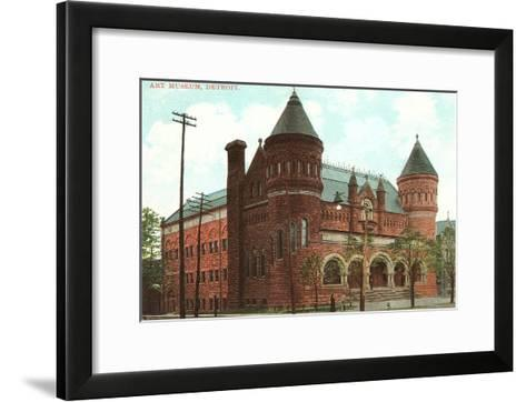 Art Museum, Detroit, Michigan--Framed Art Print
