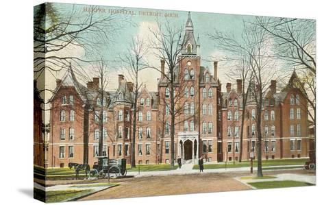 Harper Hospital, Detroit, Michigan--Stretched Canvas Print