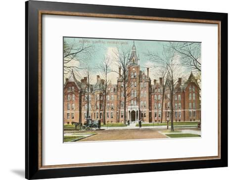 Harper Hospital, Detroit, Michigan--Framed Art Print