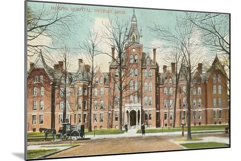Harper Hospital, Detroit, Michigan--Mounted Art Print
