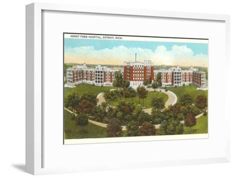 Henry Ford Hospital, Detroit, Michigan--Framed Art Print