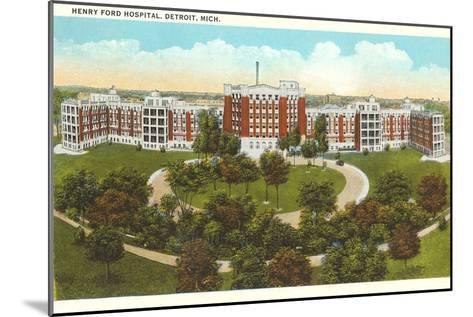 Henry Ford Hospital, Detroit, Michigan--Mounted Art Print