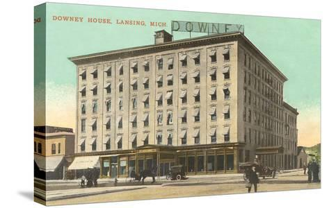 Downey House, Lansing, Michigan--Stretched Canvas Print