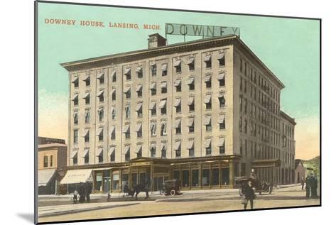 Downey House, Lansing, Michigan--Mounted Art Print