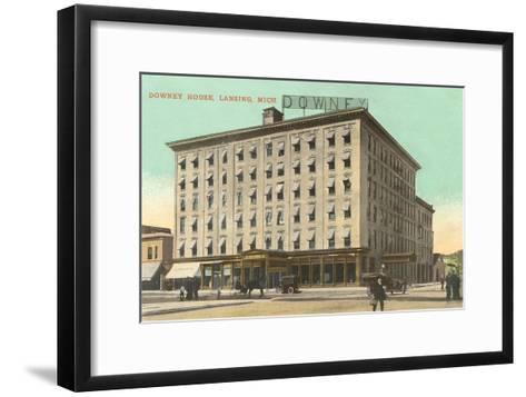 Downey House, Lansing, Michigan--Framed Art Print