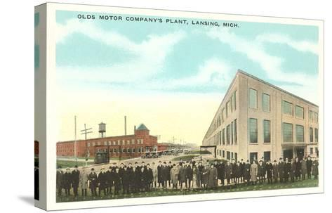Olds Motor Company, Lansing, Michigan--Stretched Canvas Print