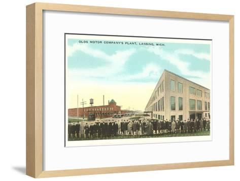 Olds Motor Company, Lansing, Michigan--Framed Art Print