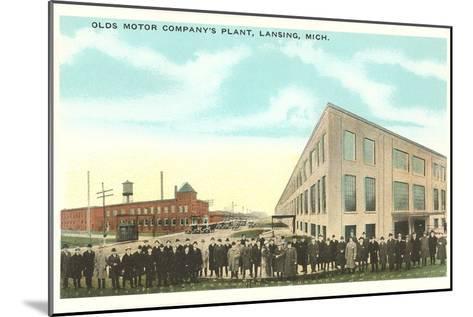 Olds Motor Company, Lansing, Michigan--Mounted Art Print