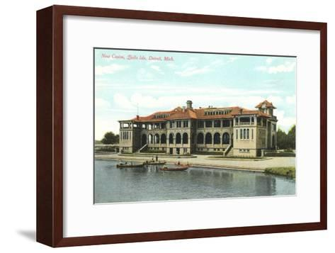 Casino, Belle Isle, Detroit, Michigan--Framed Art Print