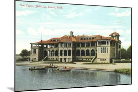 Casino, Belle Isle, Detroit, Michigan--Mounted Art Print