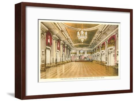 Interior, Book-Cadillac, Detroit, Michigan--Framed Art Print