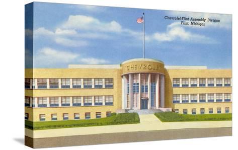 Chevrolet Plant, Flint, Michigan--Stretched Canvas Print