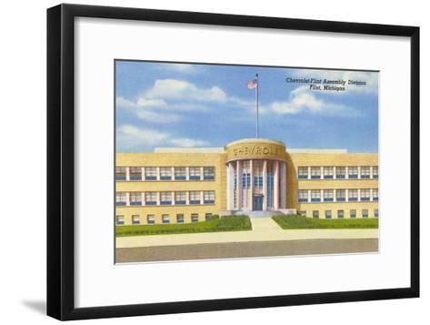 Chevrolet Plant, Flint, Michigan--Framed Art Print