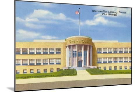 Chevrolet Plant, Flint, Michigan--Mounted Art Print