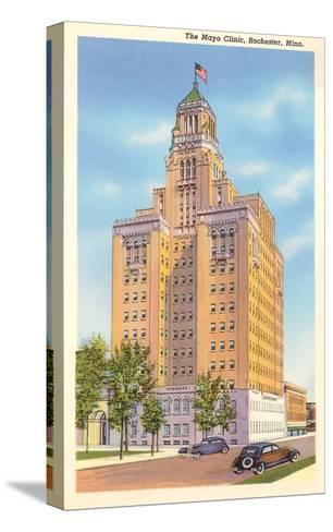 Mayo Clinic, Rochester, Minnesota--Stretched Canvas Print