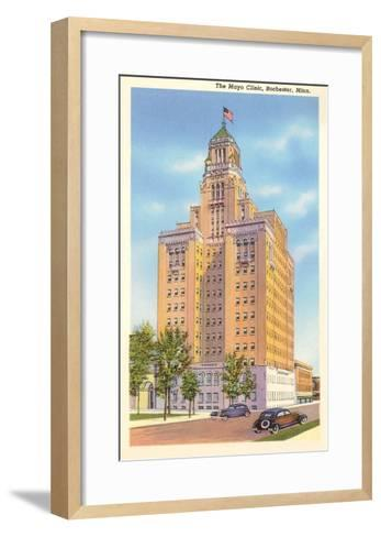 Mayo Clinic, Rochester, Minnesota--Framed Art Print