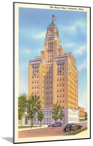 Mayo Clinic, Rochester, Minnesota--Mounted Art Print
