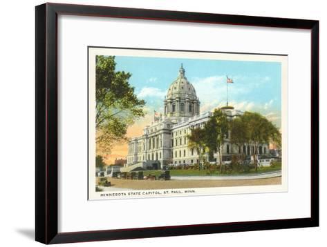 State Capitol, St. Paul, Minnesota--Framed Art Print