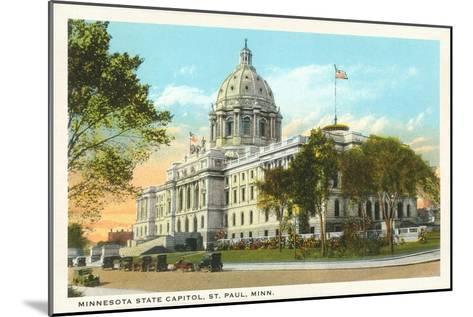 State Capitol, St. Paul, Minnesota--Mounted Art Print