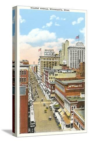 Nicollet Avenue, Minneapolis, Minnesota--Stretched Canvas Print