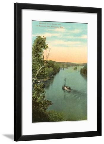 Minnehaha Creek, Minneapolis, Minnesota--Framed Art Print