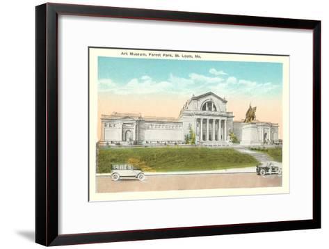 Art Museum, St. Louis, Missouri--Framed Art Print