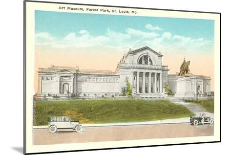 Art Museum, St. Louis, Missouri--Mounted Art Print