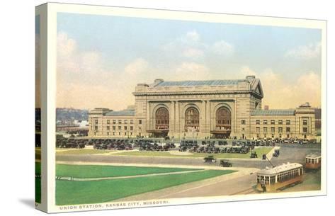 Union Station, Kansas City, Missouri--Stretched Canvas Print