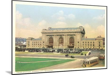Union Station, Kansas City, Missouri--Mounted Art Print
