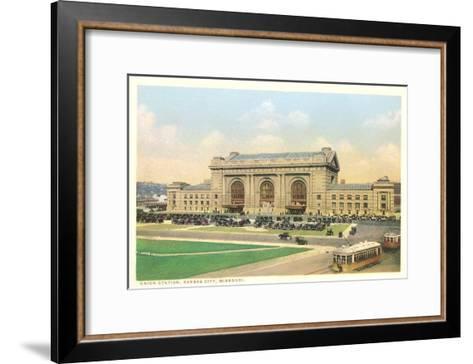 Union Station, Kansas City, Missouri--Framed Art Print