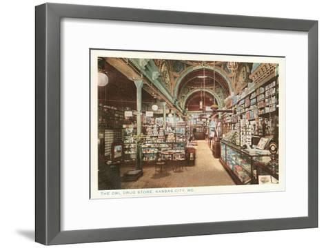 Owl Drug Store, Kansas City, Missouri--Framed Art Print